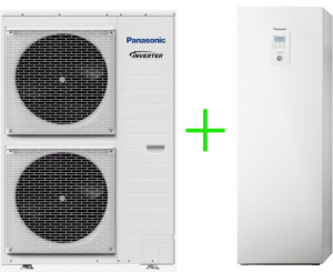 Pompa ciepła Panasonic split T-CAP ALL-IN-ONE 12kW 3~ KIT-AXC12HE8