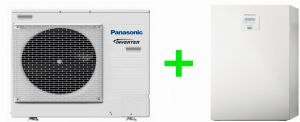 Pompa ciepła Panasonic split high-performance ALL-IN-ONE  9kW 1~ KIT-ADC9JE5-1-SM