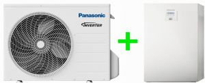 Pompa ciepła Panasonic split high-performance ALL-IN-ONE  5kW 1~ KIT-ADC5HE5B